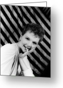 Movie Star Greeting Cards - Mary Martin (1913-1990) Greeting Card by Granger