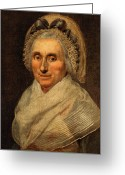 (first Lady) Greeting Cards - Mary Washington - First Lady  Greeting Card by International  Images