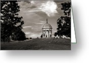 Antietam Greeting Cards - Maryland Monument - Antietam Greeting Card by Judi Quelland