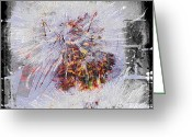 Power Lines Greeting Cards Greeting Cards - Masquerade Barricade  Greeting Card by Jerry Cordeiro