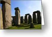 Sacrificial Greeting Cards - Massive Stones Greeting Card by Kamil Swiatek