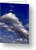 English Countryside Print Greeting Cards - Mast and Clouds Greeting Card by Darren Burroughs