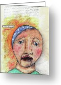 Craft Pastels Greeting Cards - Master of His Craft Greeting Card by Karen Kay