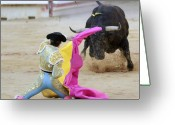 Torero Greeting Cards - Matador Francisco Marco Greeting Card by Rafa Rivas