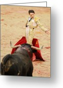 Torero Greeting Cards - Matador Joselillo I Greeting Card by Rafa Rivas