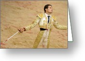 Torero Greeting Cards - Matador Joselillo II Greeting Card by Rafa Rivas