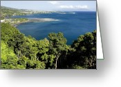 French Polynesia Greeting Cards - Matavai Bay, Site Of Anchorage Greeting Card by Tim Laman