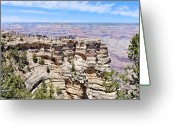 Ark Greeting Cards - Mather Point at the Grand Canyon Greeting Card by Julie Niemela