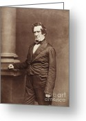 Mathew Greeting Cards - Mathew Brady, Father Of Photojournalism Greeting Card by Science Source