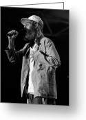 Live Music Greeting Cards - Matisyahu live in concert 1 Greeting Card by The  Vault