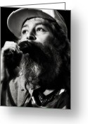 Live Music Greeting Cards - Matisyahu live in concert 3 Greeting Card by The  Vault