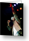 Live Music Greeting Cards - Matisyahu live in concert 5 Greeting Card by The  Vault