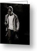 Celebrities Greeting Cards - Matisyahu live in concert 6 Greeting Card by The  Vault