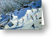 Birds Eye View Greeting Cards - Matterhorn Greeting Card by Andrew Macara
