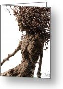 Female Sculpture Greeting Cards - Matutinal... detail Greeting Card by Adam Long
