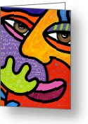 Multi-color Greeting Cards - Maxine Greeting Card by Steven Scott