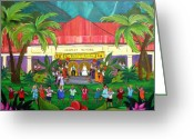 May Greeting Cards - May Day at Hanalei Greeting Card by Jerri Grindle