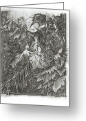 Illustrative Greeting Cards - May Fairies Dance Greeting Card by Shawn Orne