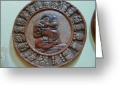 Juan Francisco Zeledon Greeting Cards - Mayan Art 2012 Greeting Card by Juan Francisco Zeledon
