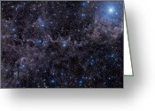 Molecular Clouds Greeting Cards - Mbm Dust Complex In Pegasus Greeting Card by John Davis