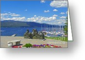 Lake Greeting Cards - McCall Idaho Photography - Payette National Forest Greeting Card by Photography Moments - Sandi