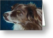 Photorealism Pastels Greeting Cards - McGee Greeting Card by Lorraine McFarland