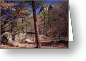 "\""guadalupe National Park\\\"" Greeting Cards - McKittrick Canyon-Guadalupe Mountains National Park Greeting Card by Lou Ann Rogers"