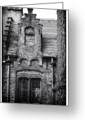Medieval Architecture Greeting Cards - Medieval Architecture  Greeting Card by John Rizzuto