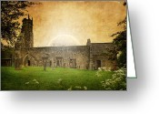 Medeival Greeting Cards - Medieval Church Greeting Card by Svetlana Sewell