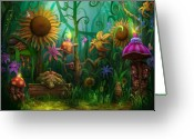 Enchanted Greeting Cards - Meet The Imaginaries Greeting Card by Philip Straub