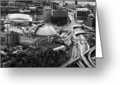 Mellon Arena Greeting Cards - Mellon arena  Greeting Card by Emmanuel Panagiotakis