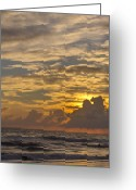 Gloaming Greeting Cards - Mellow Evening Greeting Card by T C Creations