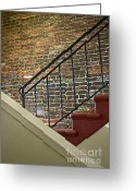 Staircase Greeting Cards - Memoirs Greeting Card by Gwyn Newcombe