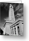 Rouge Greeting Cards - Memorial Tower Greeting Card by Scott Pellegrin