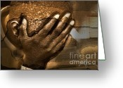 African American Greeting Cards - Memories Etched In Stone Greeting Card by Bob Salo