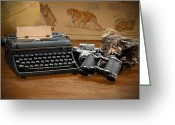 Typewriter Greeting Cards - Memories Greeting Card by Rudy Umans
