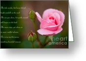 Spring-blooming Greeting Cards - Memories Greeting Card by Syed Aqueel