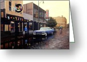 Clubs Greeting Cards - Memphis Blues Greeting Card by Frank Dalton
