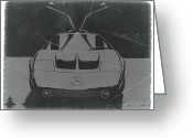Mercedes Benz 300 Sl Classic Car Greeting Cards - Mercedes Benz C Iii Concept Greeting Card by Irina  March