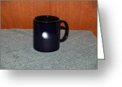 Surrealism Ceramics Greeting Cards - Mercury Custom photo reproduction Coffee mug- Side A Greeting Card by Ryan Demaree