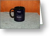 Surrealism Ceramics Greeting Cards - Mercury Custom photo reproduction Coffee mug- Side B Greeting Card by Ryan Demaree