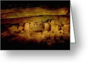 Mesa Verde Greeting Cards - Mesa Verde Greeting Card by Ellen Lacey