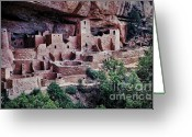 Mesa Verde Greeting Cards - Mesa Verde Greeting Card by Heather Applegate