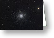 Starfield Greeting Cards - Messier 3, A Globular Cluster Greeting Card by Roth Ritter