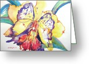 Reproducciones Tropicales Greeting Cards - Metamorphosis Greeting Card by Estela Robles
