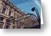 Benjamin Matthijs Greeting Cards - Metropolitaine Greeting Card by Benjamin Matthijs