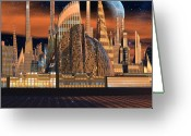 Metropolitan Opera Nyc Greeting Cards - Metropolitan Opera NYC Greeting Card by H G Mielke