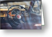 Dash Greeting Cards - MG Magnette ZA Greeting Card by David Bleeker