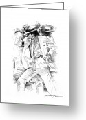 Michael Jackson Greeting Cards - Michael Jackson Smooth Criminal Greeting Card by David Lloyd Glover