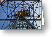 Kodachrome Greeting Cards - Microwave Tower Greeting Card by Chuck Staley